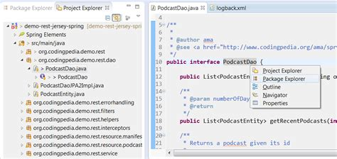 eclipse theme package explorer is intellij idea shining through eclipse codingpediaorg