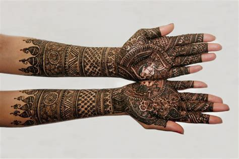 the best bridal mehndi designs for full hands