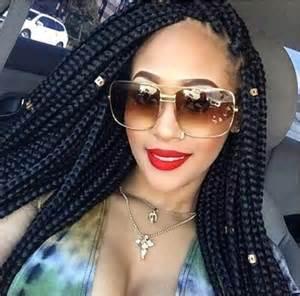 individual braids (5) glamorous hairstyles