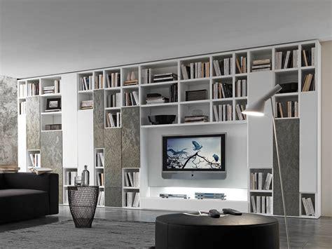 sposa 2000 mobili parete attrezzata componibile laccata con porta tv pari