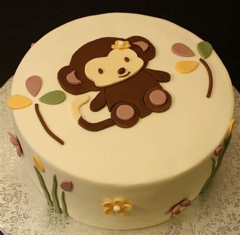 monkey template for cake monkey theme cakes for baby showers design dazzle