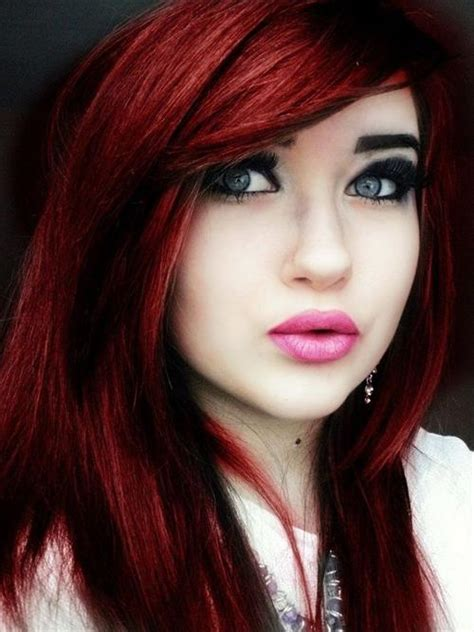 hair colors an dos for women in their 50s 40 bold beautiful bright red hair color shades