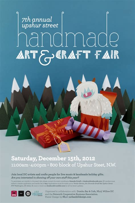 Handmade Poster Design - 15 awesome papercrafts used in design