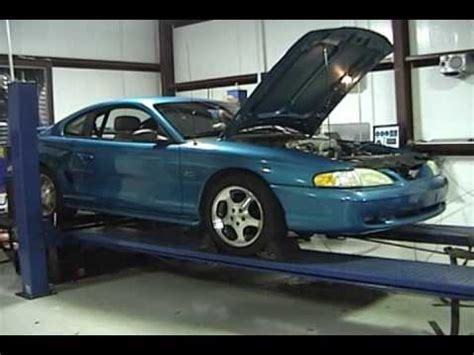 1995 mustang turbo t64e turbo 302 tfs heads stock 1995 mustang gt dyno