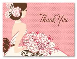 thank you letter for bridal shower