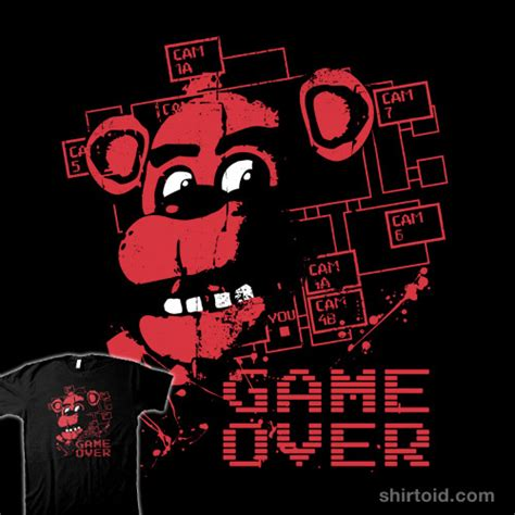 freddys at five nights anime newhairstylesformen2014com freddys game over nights at five five nights at freddy s