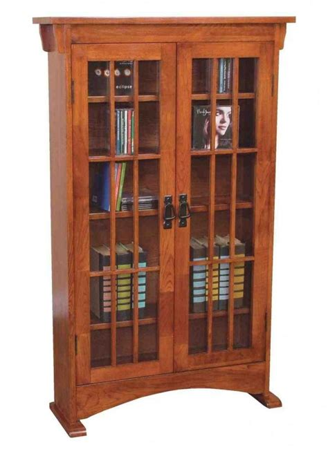 dvd cabinets with glass doors cd storage units wood bookcase cd dvd media storage