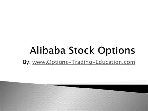 alibaba options stocks that trade options icavepohezog web fc2 com