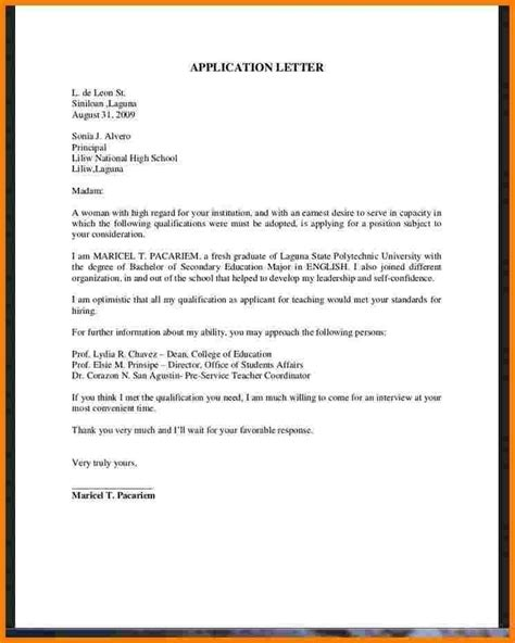 resume sle for business administration graduate application letter sle for business administration