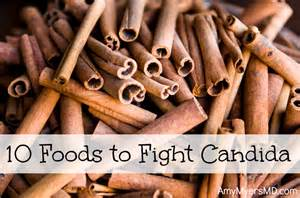 10 foods to fight candida myers md