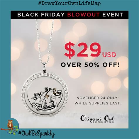 Origami Owl Deals - origami owl 2017 black friday deals and exclusive looks