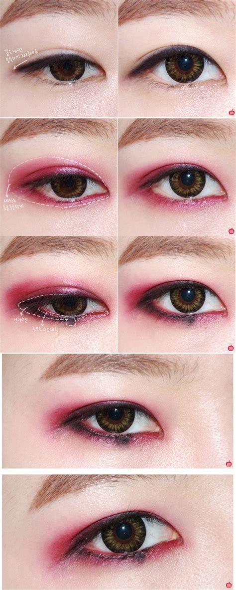 tutorial eyeliner baekhyun exo makeup korean makeup pinterest makeup tutorials