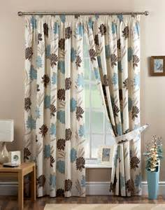 Brown And Blue Curtains Bedroom Blue And Curtains Pictures Decorations