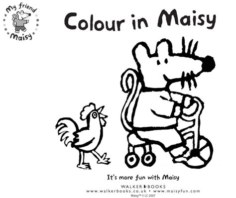 maisy the mouse coloring pages colouring fun with maisy scholastic kids club