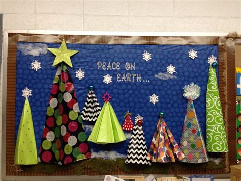 origami christmas bulletin boards google search