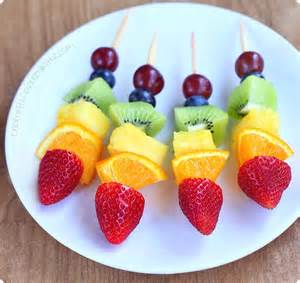 Valentine Decorations To Make At Home rainbow fruit kabobs taste the rainbow
