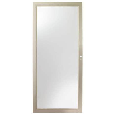 Andersen 3000 Door by Andersen 36 In X 80 In 3000 Series Sandtone Right