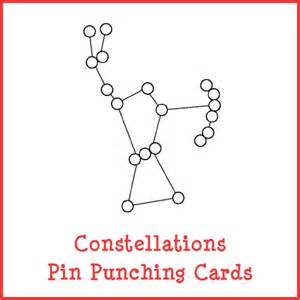 constellations pin punching cards gift of curiosity