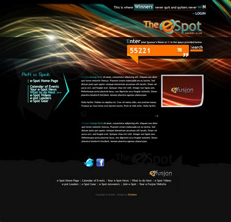 how to layout web design e spot webdesign layout by ixstudio on deviantart