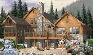 Plan of the week quot remarkable chalet quot drummond house plans blog