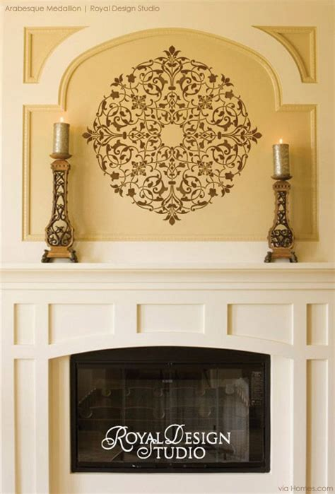 pin by royal design studio stencils on stenciled painted