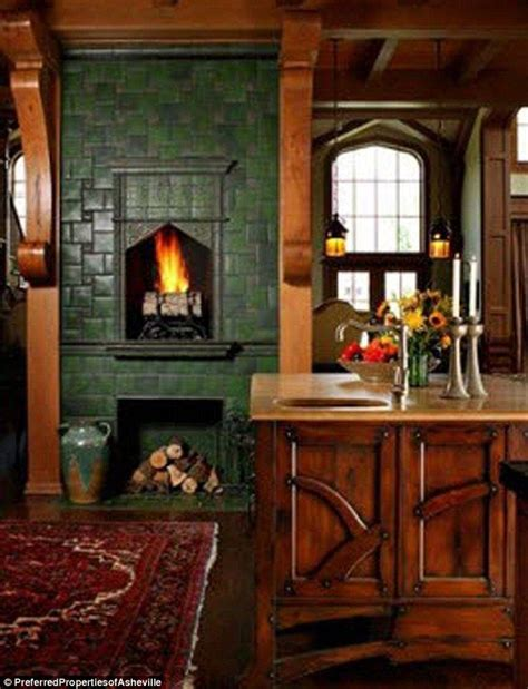 Kitchens With Fireplaces In Them by Andie Macdowell S Storybook Tudor For Sale In Nc