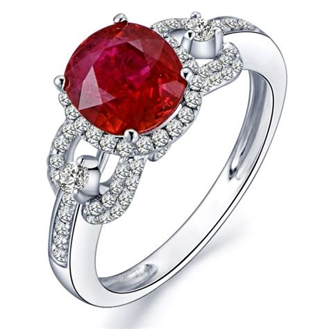 marvelous ruby and engagement ring jeenjewels