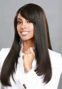 pictures of weaving hair styles long straight black weave hairstyles with bangs