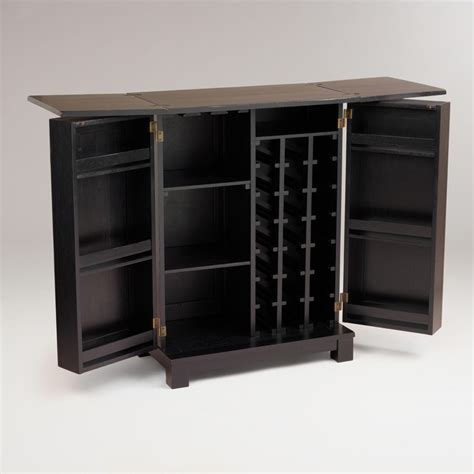 world market bar cabinet antique black verona bar world market small space bars