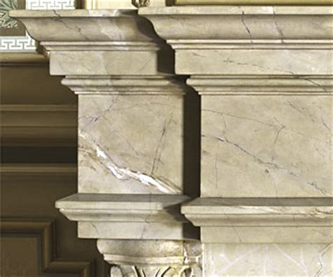 Faux Marble Fireplace Surround by Decorative Finishes 187 Faux Marble Fireplace