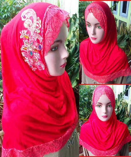 Jilbab Syria Safarah Renda grosir jilbab syiria renda brukat sentral grosir jilbab kerudung i supplier jilbab i retail