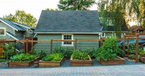 raised garden beds portland urban garden design