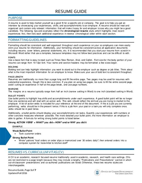 Resume Guide by Resume Guide