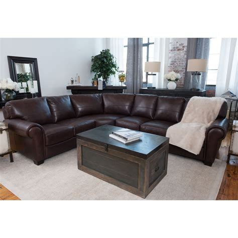 Leather Sectional Sofa Costco Furniture Add Luxury To Your Home With Grain Leather Sectional Jfkstudies Org