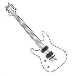 guitar coloring free coloring pages art coloring pages