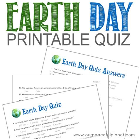 earth day quiz earth day quiz wowkeyword