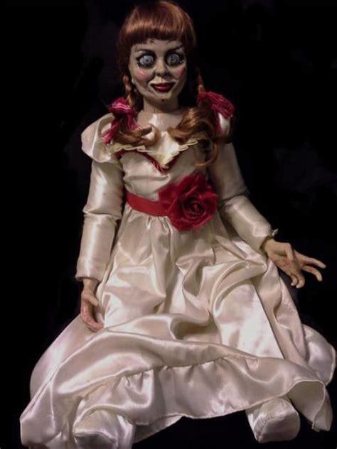 annabelle doll look alike veteran actor tony amendola battles doll annabelle