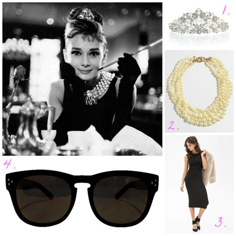 breakfast at tiffany s photo booth grab a prop and strike easy audrey hepburn halloween costume