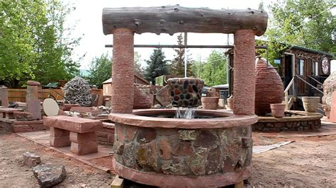 Cabin Cottage Plans by Blue Mountain Stone Custom Made Wishing Well Water