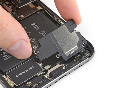 iphone xs max lower speaker replacement ifixit repair guide