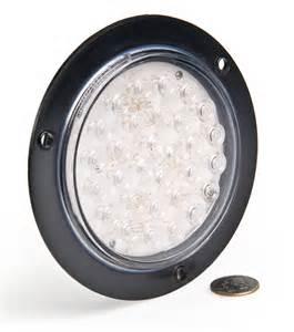 Led Truck Light Bulbs Led Truck Trailer Light W Built In Flange 5 1 2 Quot Led Light W 30 Leds 3 Pin