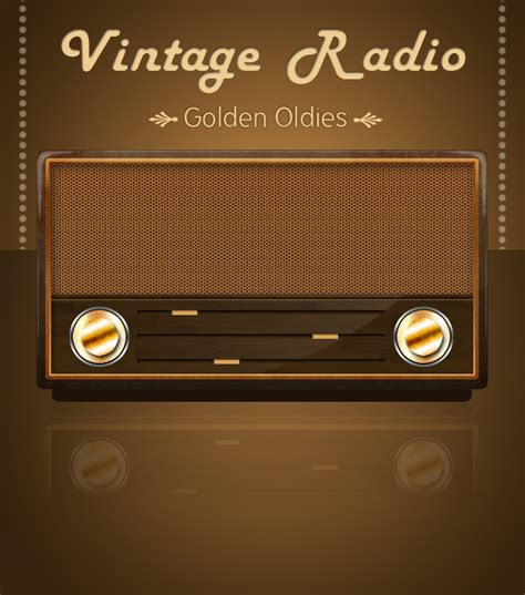 vector radio tutorial vintage radio by losingsarah on deviantart