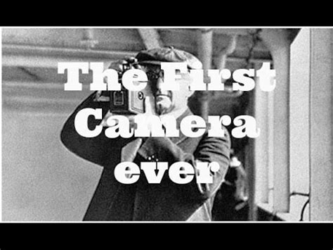 The First Camera Ever Youtube