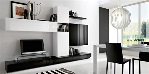 Living Room White Tv Stand Black And White Modern Living Room Plasma Tv Stand 2