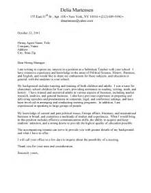 Academic Cover Letter Exle by Sle Faculty Cover Letter The Best Letter Sle