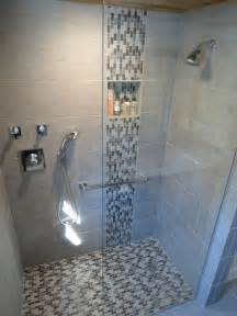 bathroom accent tile ideas 39 grey mosaic bathroom floor tiles ideas and pictures