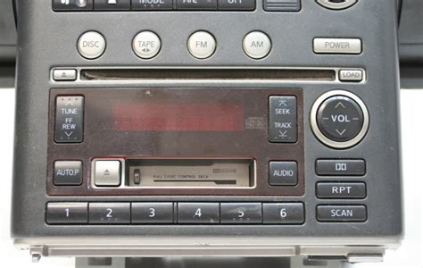 2003 infiniti g35 factory stereo 6 disc changer cd