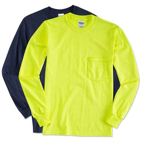 Sleeved Pocket T Shirt custom gildan ultra cotton sleeve pocket t shirt