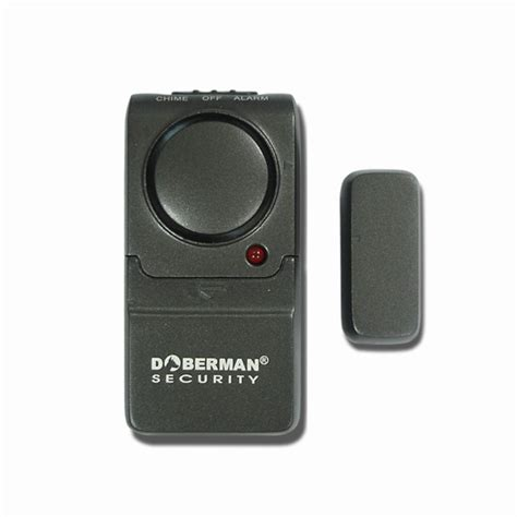 Mini Surveillance 947 by Doberman Security Mini Entry Defender Alarm W Chime 2pk Se