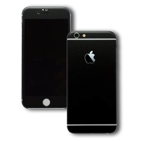 iphone 6s plus black matt skin wrap decal easyskinz